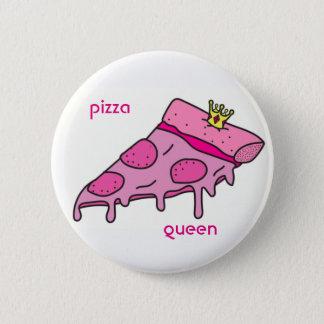 Pizza Queen Button
