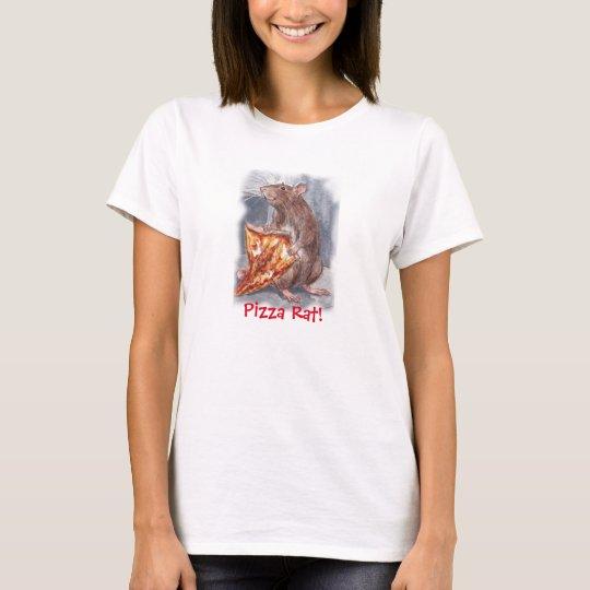 Pizza Rat T Shirt