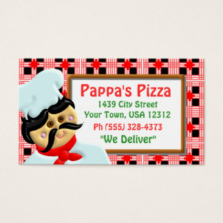 Pizza Restaurant Business Card
