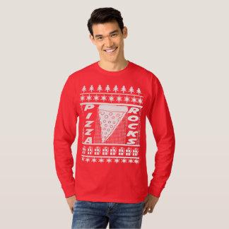 Pizza Rocks Christmas T-Shirt
