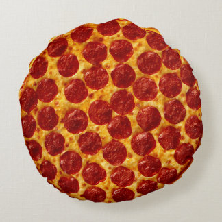 Pizza Round Cushion