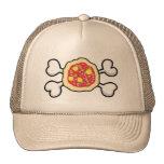 pizza Skull and Crossbones Cap