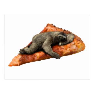 Pizza Slaoth Postcard