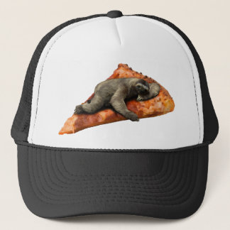 Pizza Slaoth Trucker Hat