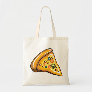 Pizza Slice Budget Tote Bag