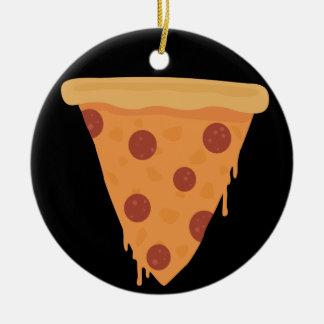 Pizza Slice Christmas Ornament