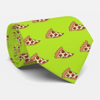 Pizza slice design tie