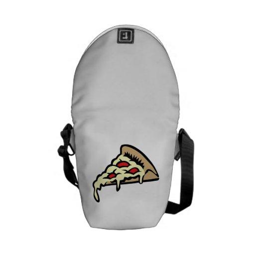 Pizza Slice Messenger Bags