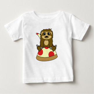 Pizza Sloth Baby T-Shirt
