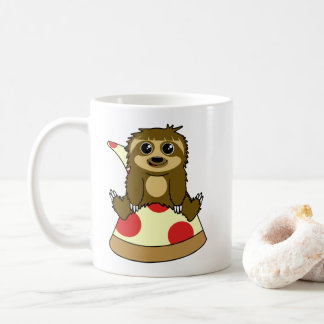Pizza Sloth Coffee Mug