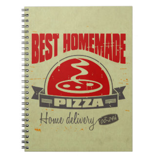 Pizza Spiral Notebook