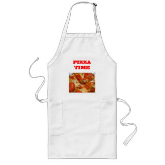 Pizza Time Long Apron