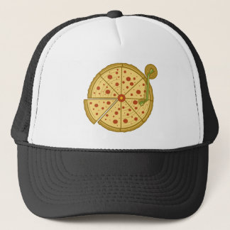 Pizza vinyl trucker hat
