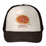 Pizza Volume Mathematical Formula = Pi*z*z*a Hats