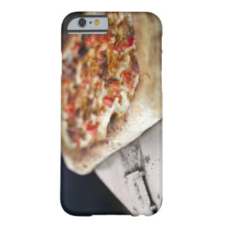 Pizza with tomatoes, garlic and meat substitute barely there iPhone 6 case