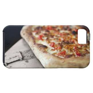 Pizza with tomatoes, garlic and meat substitute tough iPhone 5 case