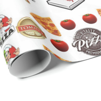 Pizza wrapping glossy paper