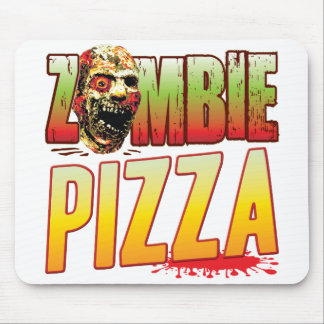 Pizza Zombie Head Mouse Mat