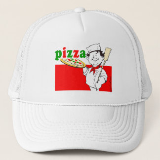 Pizzaiolo and Pizza Trucker Hat