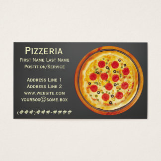 Pizzeria Business Card