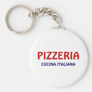 Pizzeria Keychain