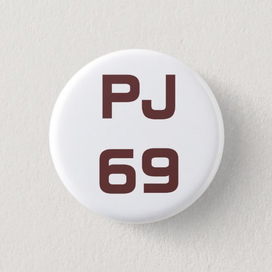PJ Singles 1 3 Cm Round Badge