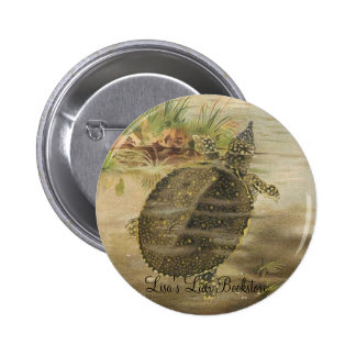 PJ Smith - Soft-Shelled River Tortoise 6 Cm Round Badge