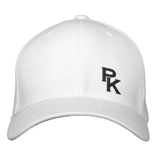 PK (lower left) Embroidered Hats