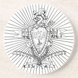 PKA Crest BW Weathered Coaster