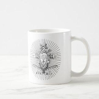 PKA Crest BW Weathered Coffee Mug