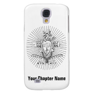 PKA Crest BW Weathered Galaxy S4 Case