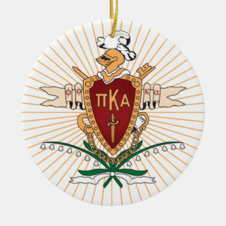 PKA Crest Color Christmas Ornament