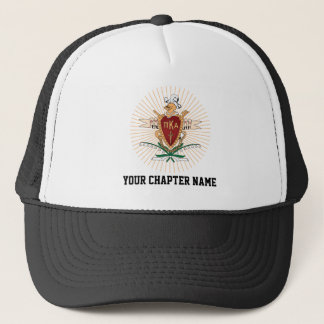 PKA Crest Color Trucker Hat