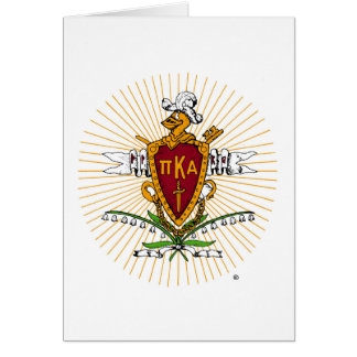 PKA Crest Color Weathered Card