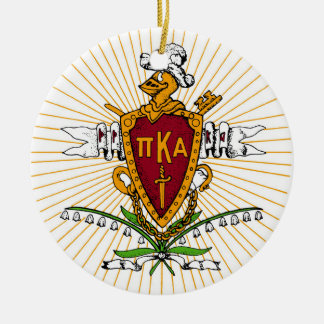 PKA Crest Color Weathered Christmas Ornament