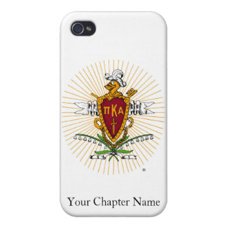 PKA Crest Color Weathered iPhone 4/4S Covers