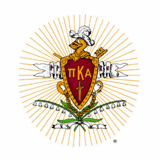 PKA Crest Color Weathered Standing Photo Sculpture