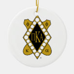 PKA Gold Diamond Ornament