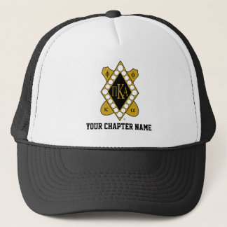 PKA Gold Diamond Trucker Hat