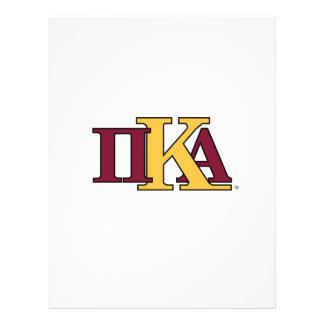 PKA Letters 21.5 Cm X 28 Cm Flyer
