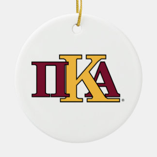 PKA Letters Christmas Ornament