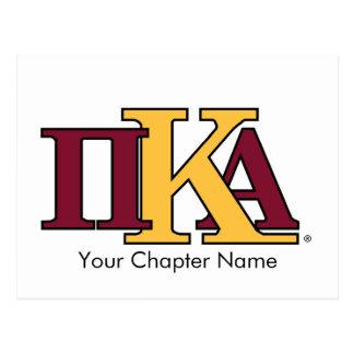 PKA Letters Postcard