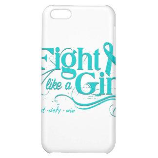 PKD Fight Like A Girl Elegant Cover For iPhone 5C