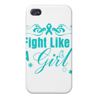 PKD Fight Like A Girl Ornate Cover For iPhone 4