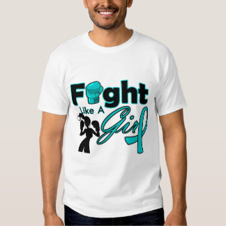 PKD Fight Like A Girl Silhouette T-shirts