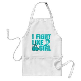 PKD I Fight Like A Girl (Grunge) Aprons