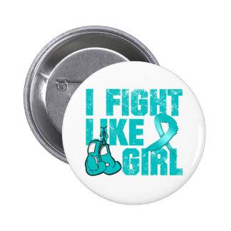 PKD I Fight Like A Girl (Grunge) Buttons