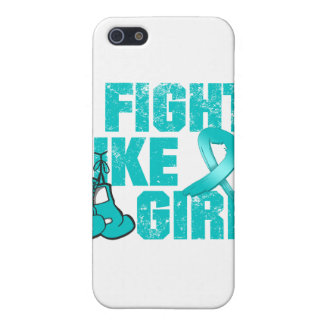 PKD I Fight Like A Girl Grunge Cover For iPhone 5
