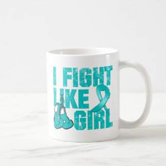 PKD I Fight Like A Girl (Grunge) Coffee Mug