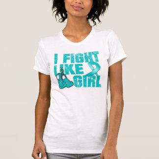 PKD I Fight Like A Girl (Grunge) T-shirt